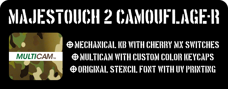 Majestouch 2 Camouflage-R