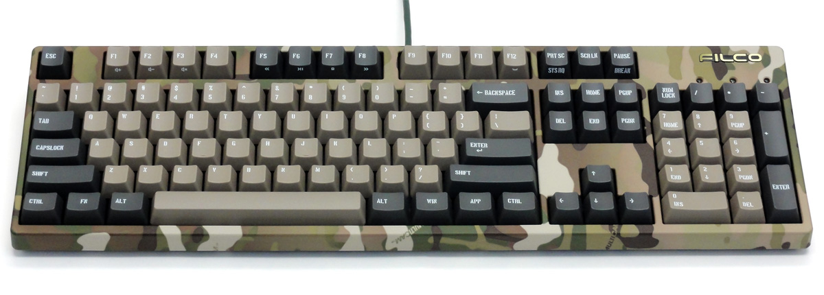 Majestouch 2 Camouflage-R CHERRY MX SILENTスイッチ・フルサイズ・US ASCII