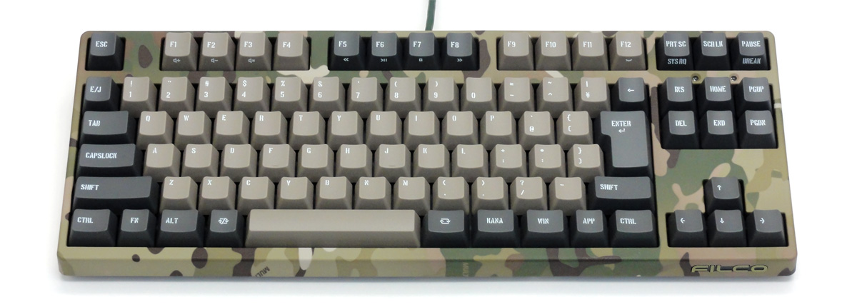 Majestouch 2 Camouflage-R CHERRY MX SILENTスイッチ・テンキーレス・かななし
