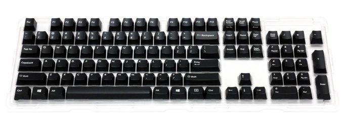 English 104 key, exchange key cap set for Majestouch