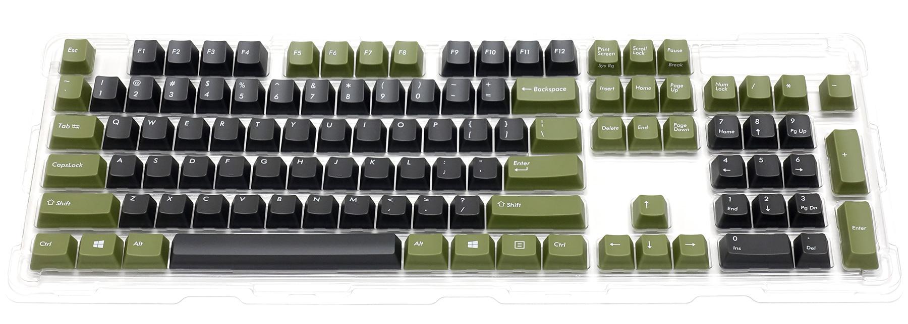 カラーキーキャップセット 英語104キー・US ASCII・トーンB