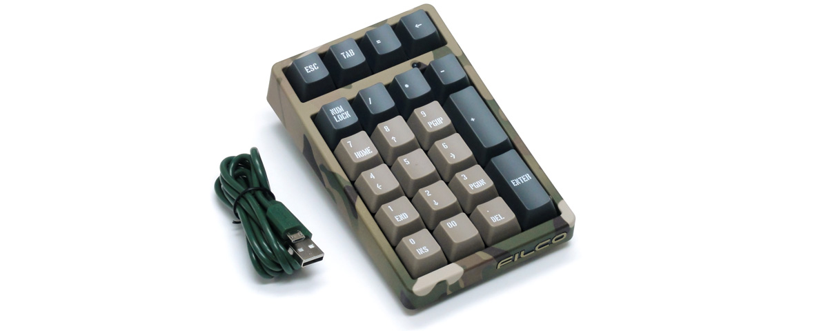 Majestouch TenKeyPad 2 Professional [BrownSwitch / MULTICAM]
