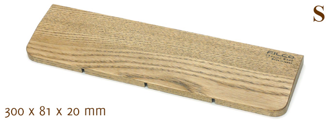 Wood Palm Rest S