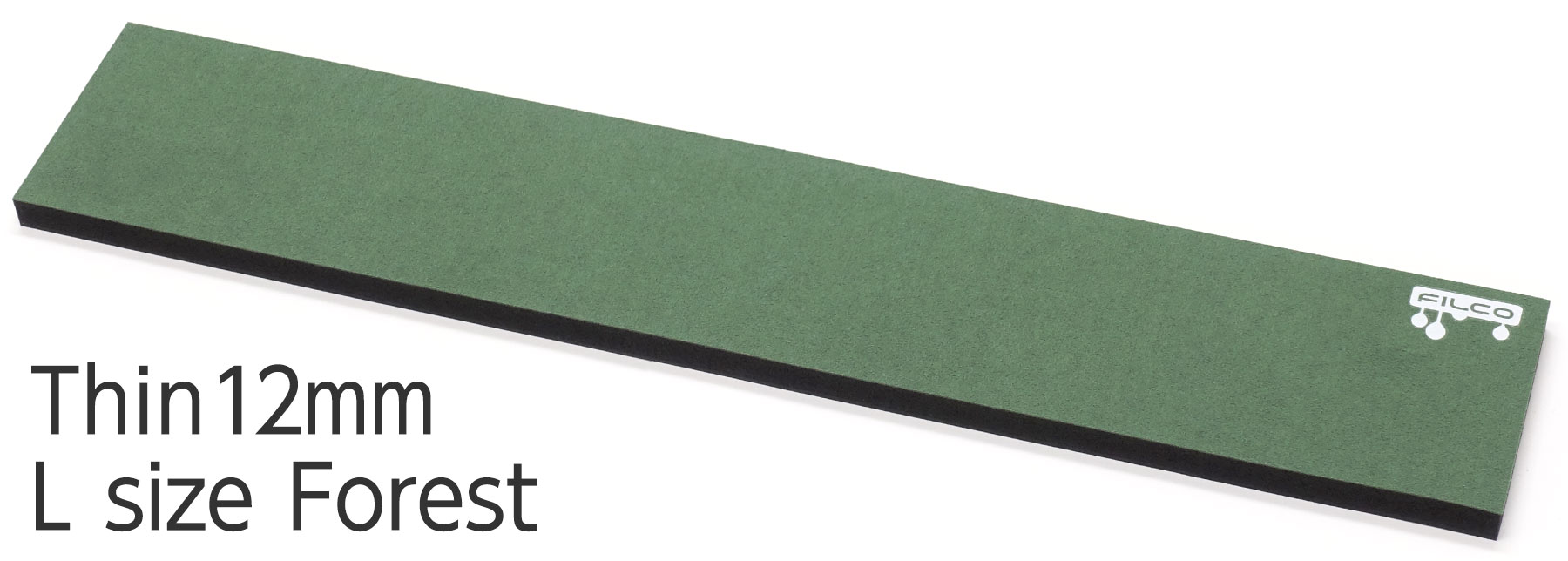 "FILCO Majestouch Wrist Rest ""Macaron"" Thin 12mm / L size / Forest"